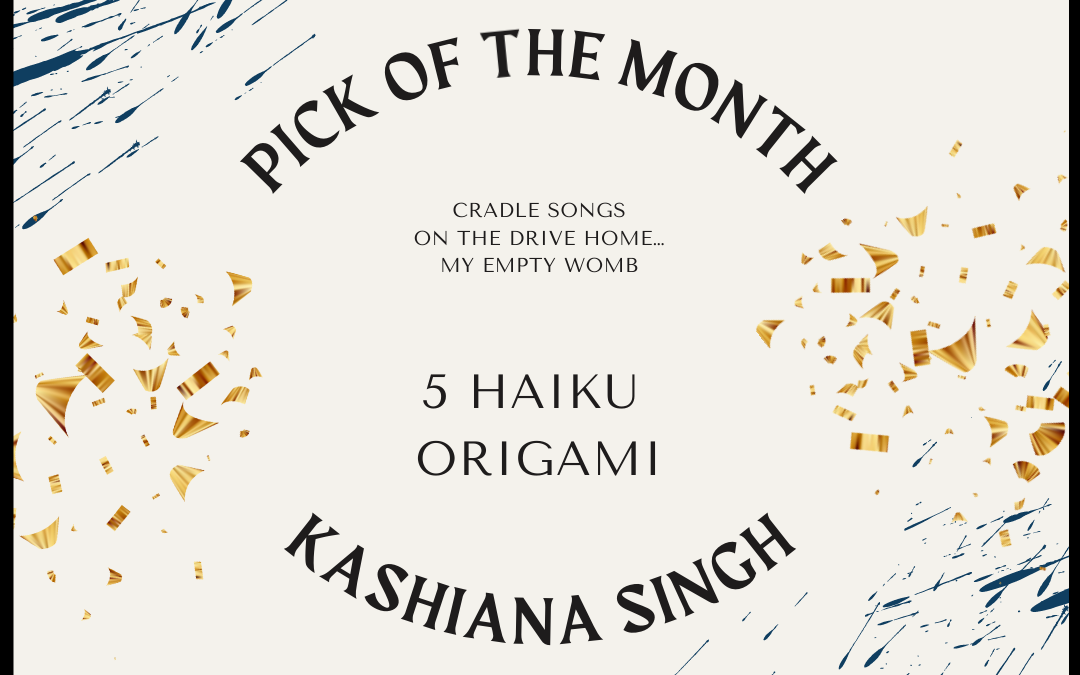 Kashiana Singh's 'Origami' Haiku Series is the IS&T Pick of the Month for December 2020