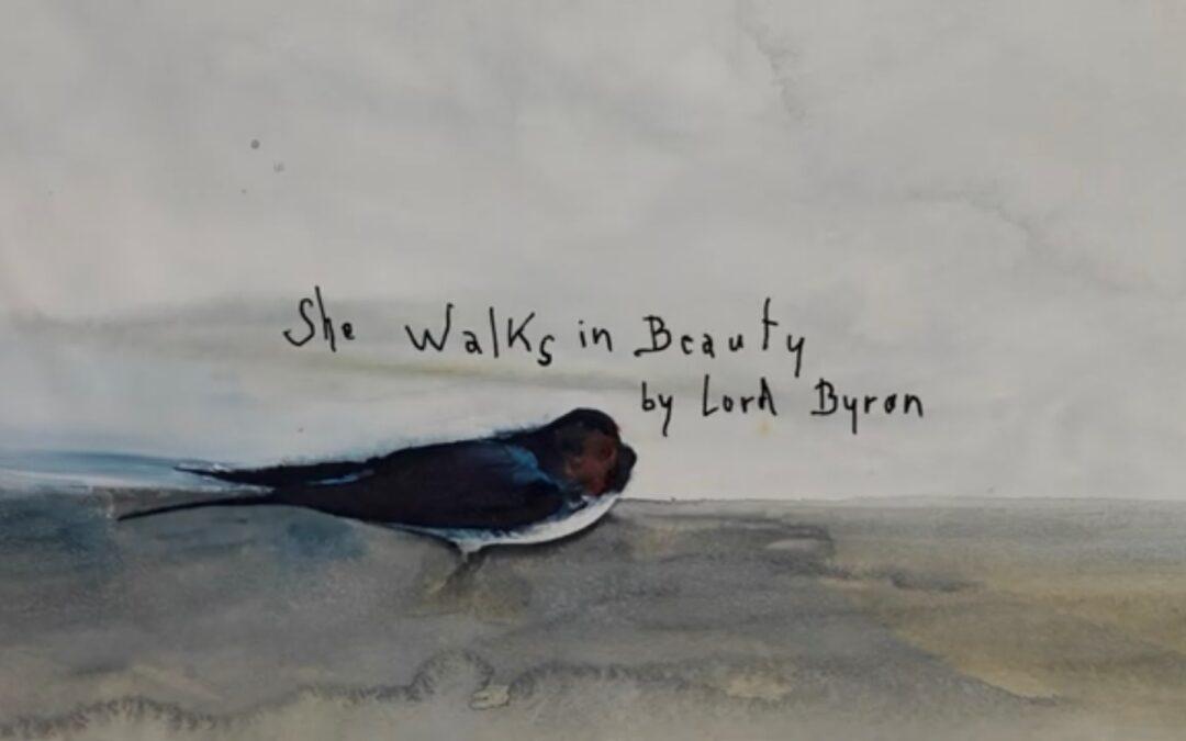 'She Walks in Beauty' by Marianne Faithfull with Warren Ellis